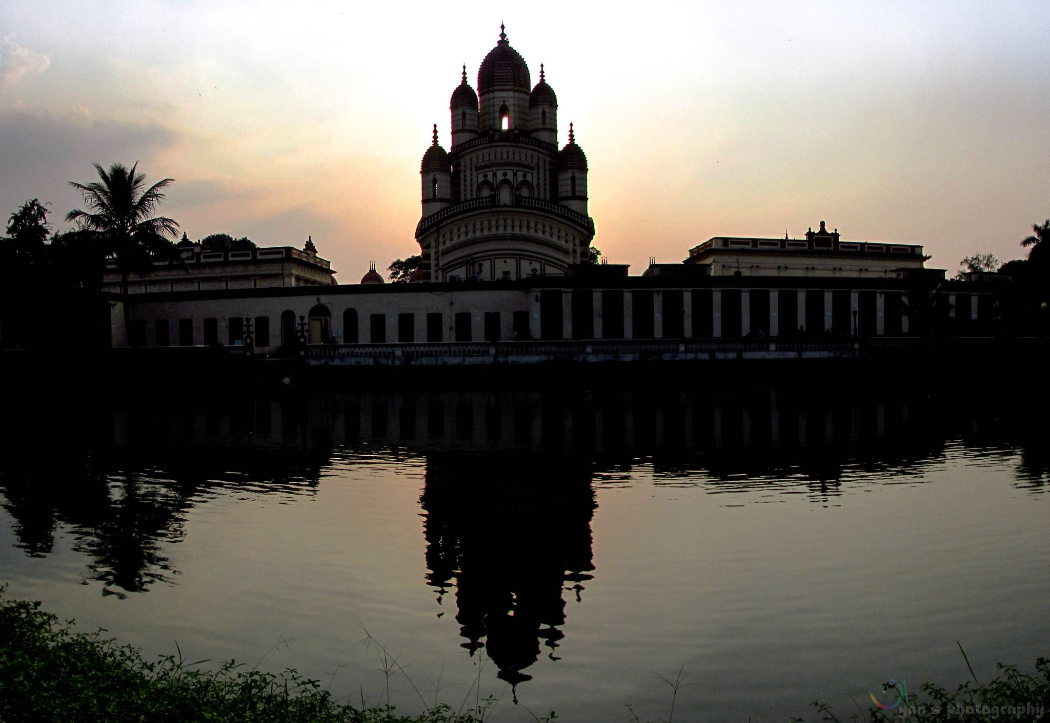 Took this shot at Dakshineswar in Kolkata.