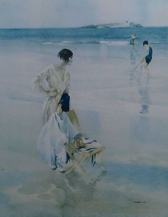 Sold Price: SIR WILLIAM RUSSELL FLINT, R.A., P.R.W.S