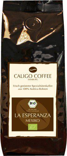 """CALIGO COFFEE Kaffeerösterei Bio Mexiko """"La Esperanza"""" 1000 g gemahlen von Caligo Coffee Kaffeerösterei, http://www.amazon.de/dp/B0052SF8A2/ref=cm_sw_r_pi_dp_3d-rsb1KJS7SP"""