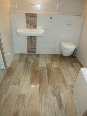 Holzboden Im Bad Oder Feinsteinzeug Fliesen In Holzoptik
