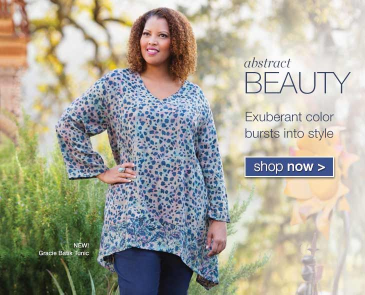3d906b5775c Plus size clothing for women sizes 1X to 8X. Extended and super size  shirts