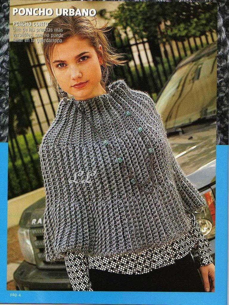 louca por linhas - crochet e patchwork: Mini-poncho de crochê