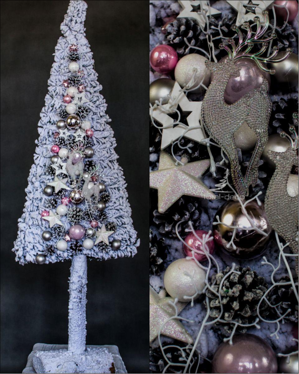Niesamowita Oryginalna Plaska Choinka Na Pniu Bogato Dekorowana Christmas Ornaments Holiday Decor Novelty Christmas