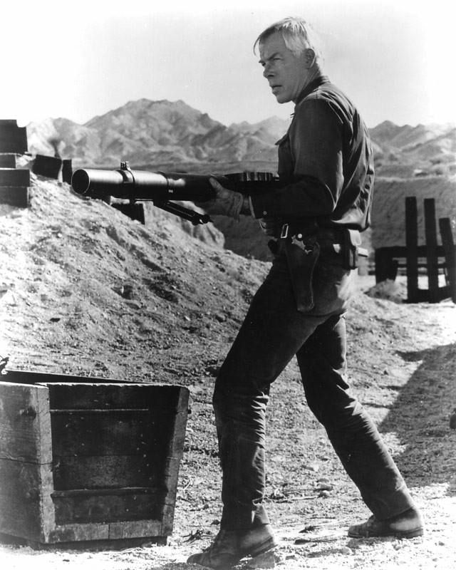 Lee Marvin in THE PROFESSIONALS (1966)