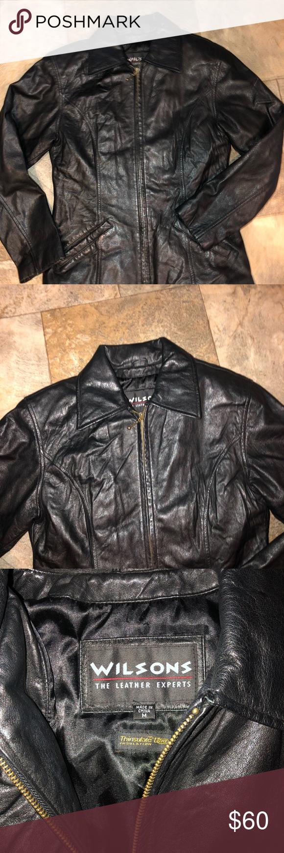 Wilson's Leather Women's Jacket Euc Size Medium Wilson's