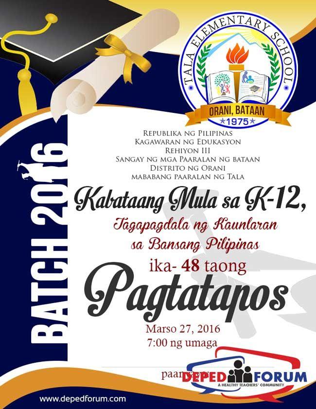 Graduation Programme Design In Publisher Format Graduation