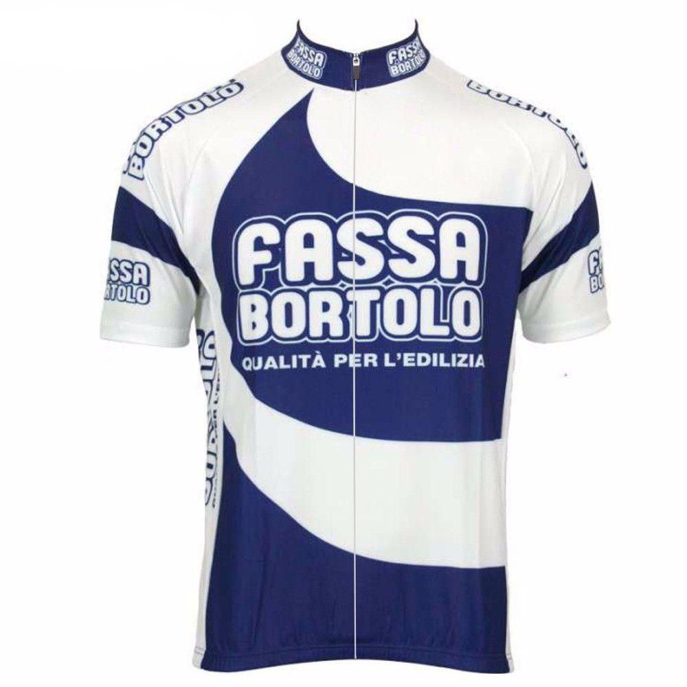 Retro Fassa Bortolo Cycling Jersey  f6f1335ad