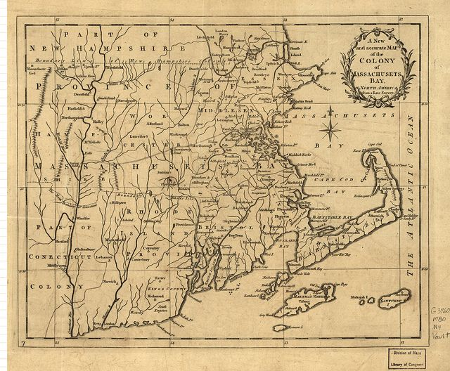 A new and accurate map of the colony of Massachusets ie