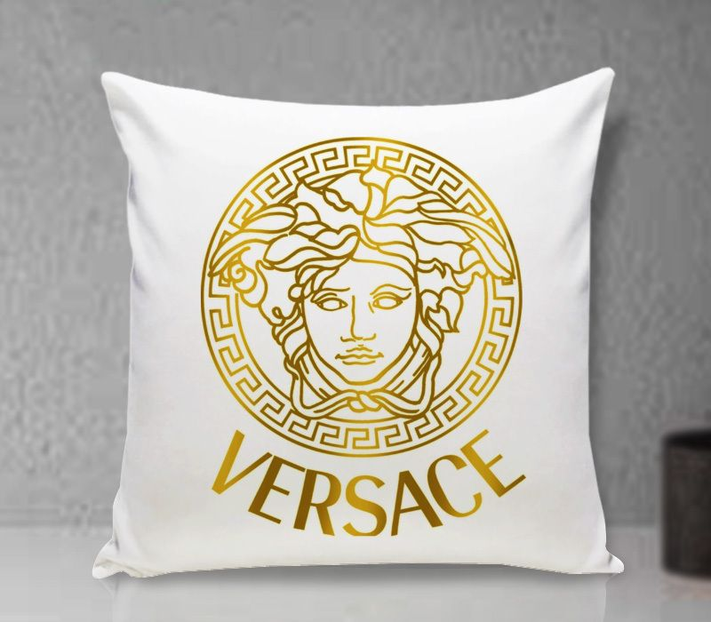 gold versace pillow cover cushion throw