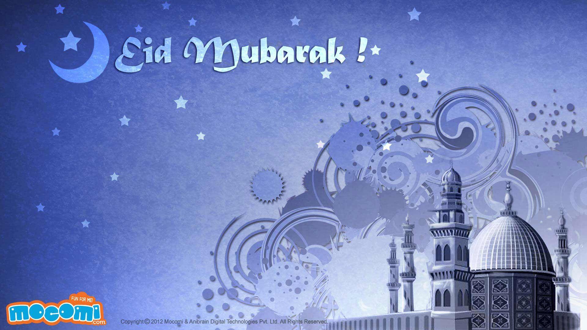 Eid Mubarak 02 Desktop Wallpapers For Kids Mocomi Eid Images Eid Wallpaper Eid Mubarak