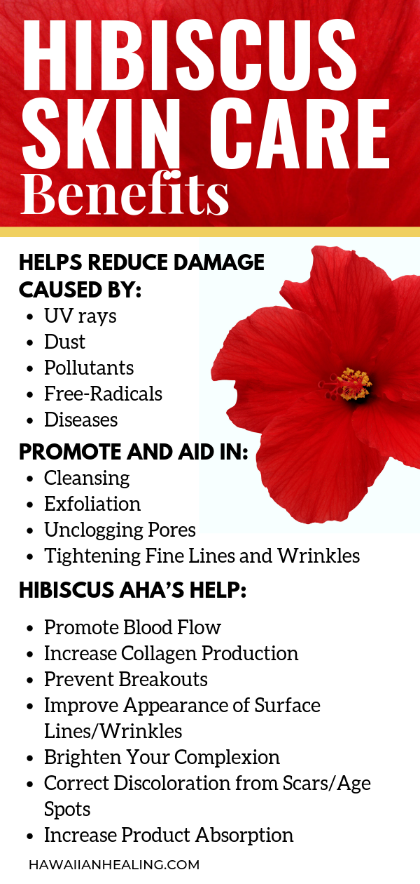 Hibiscus Barbucha Kombucha Coconut Health Benefits Hibiscus Improve Skin Health