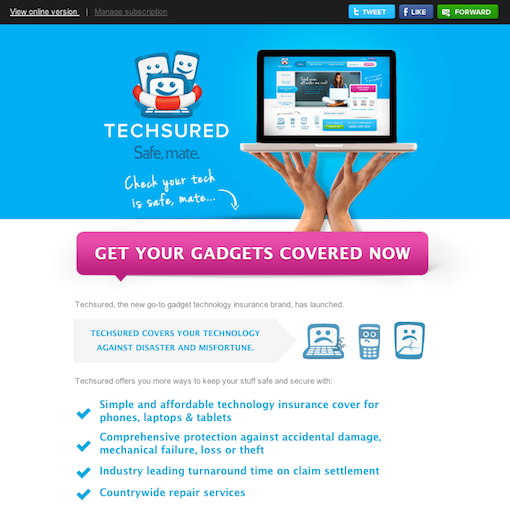 Techy Simple Exciting Marketing Campaign Examples Email Design Best Email