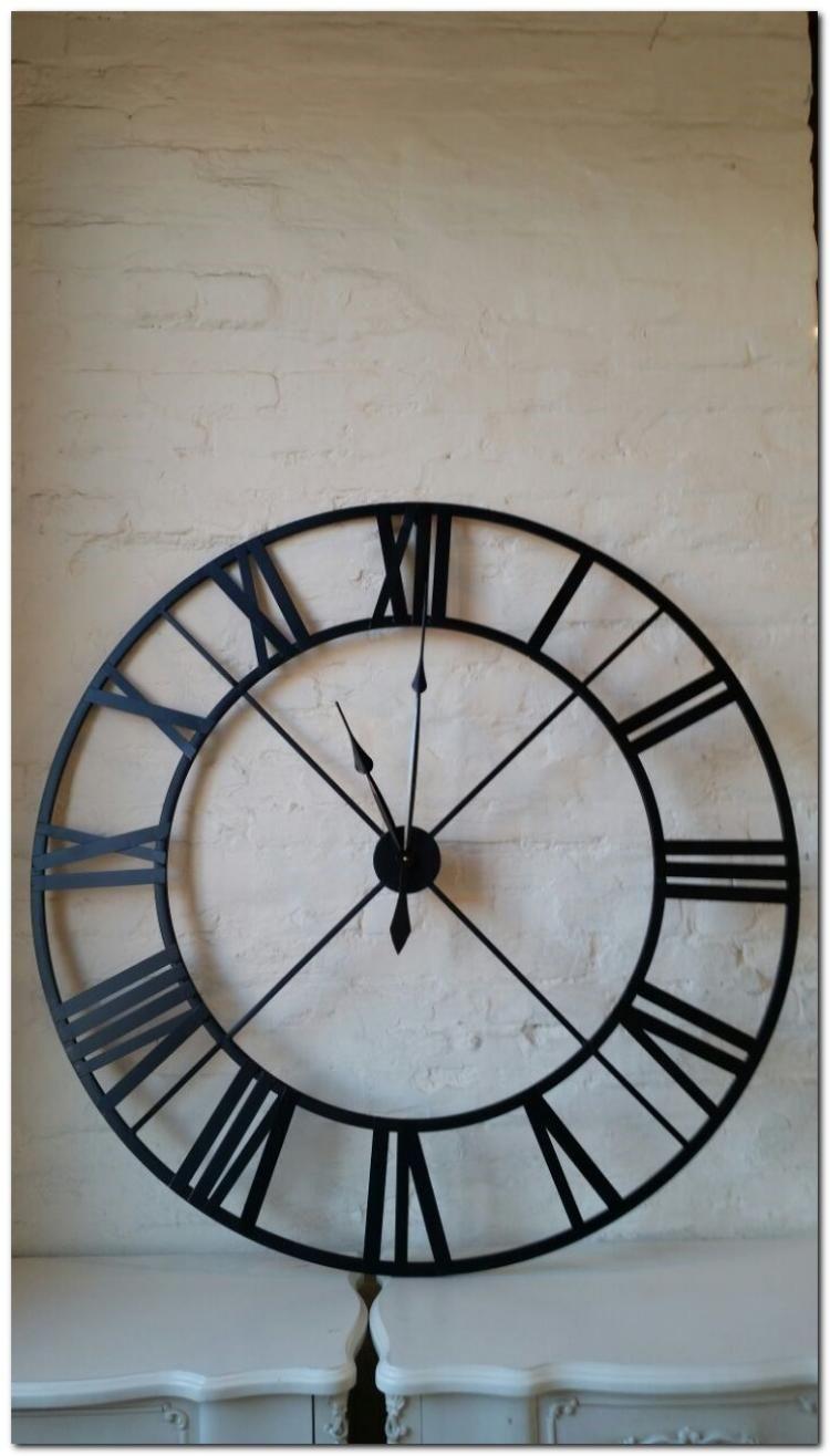 50 Inpiring Clock Design For Kitchen Interior Black Wall Clock Wall Clocks Living Room Clock