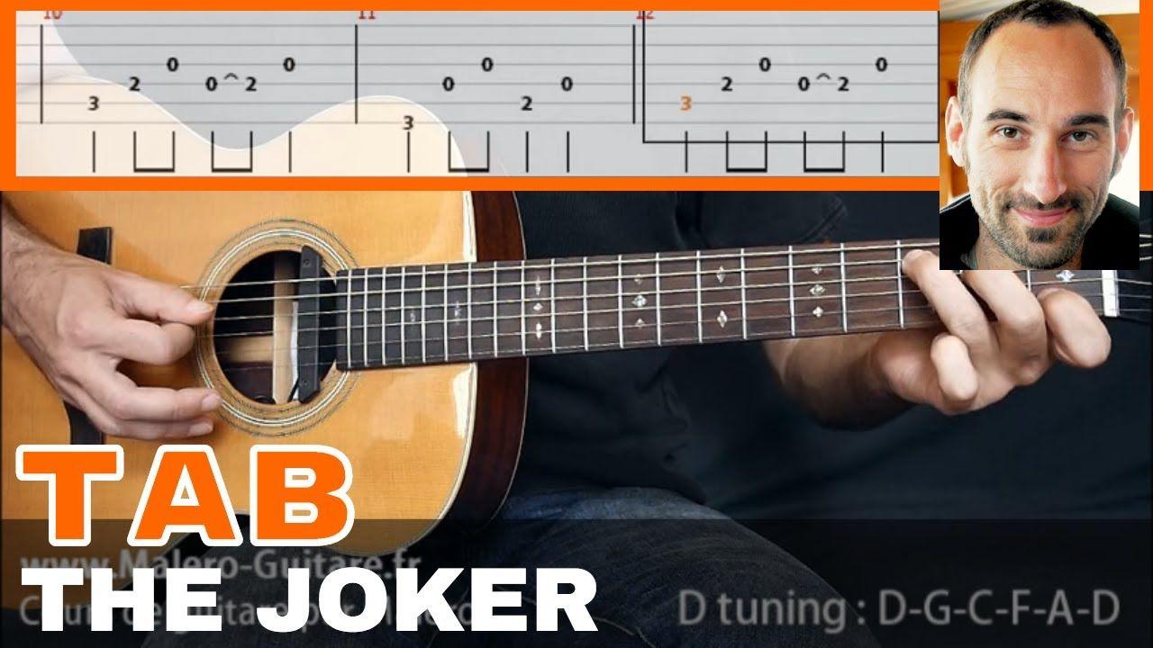 The Joker Guitar Tab Guitar Tabs Joker Guitar