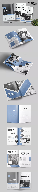 Company Profile Template Indesign Indd A4 Company Profile Design