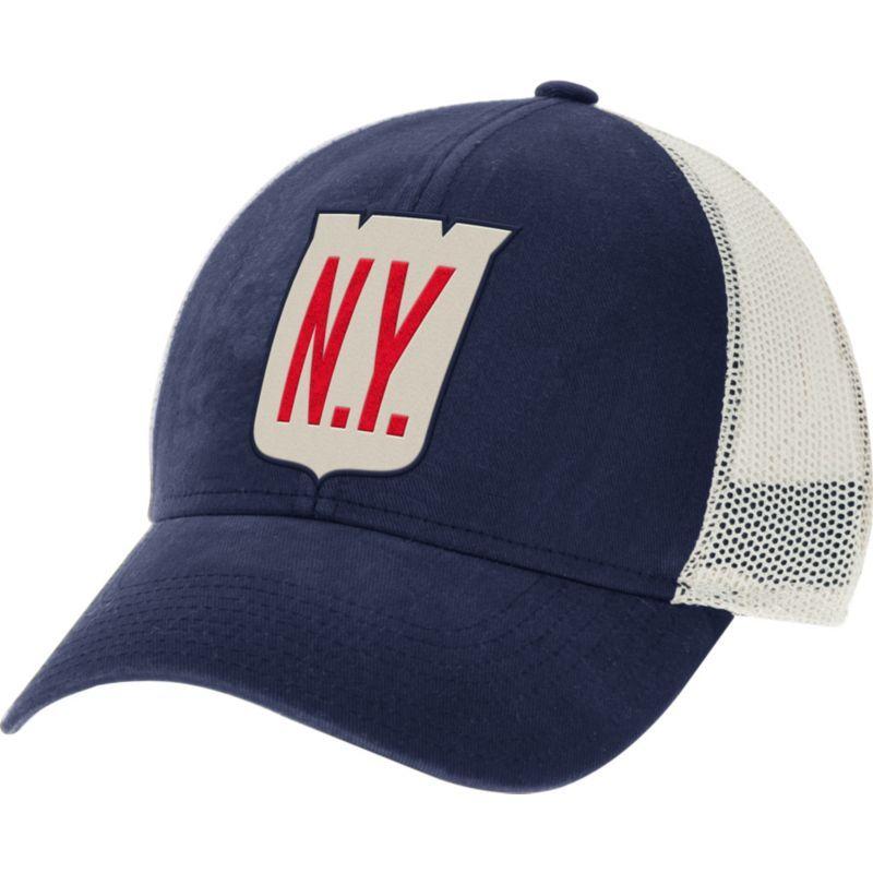 0d707c02081ff CCM Men s 2018 Winter Classic New York Rangers Structured Navy Adjustable  Hat