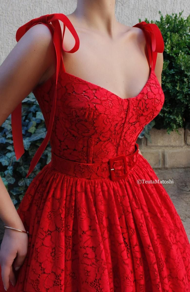 Pin By Ava Baker On Party Wear Red Dress Elegant Dresses Fashion Dresses Lace Dress [ 1200 x 780 Pixel ]
