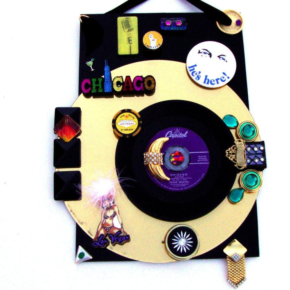 SINATRA Vinyl Record 3D Wall Art 1957 Single 45 \