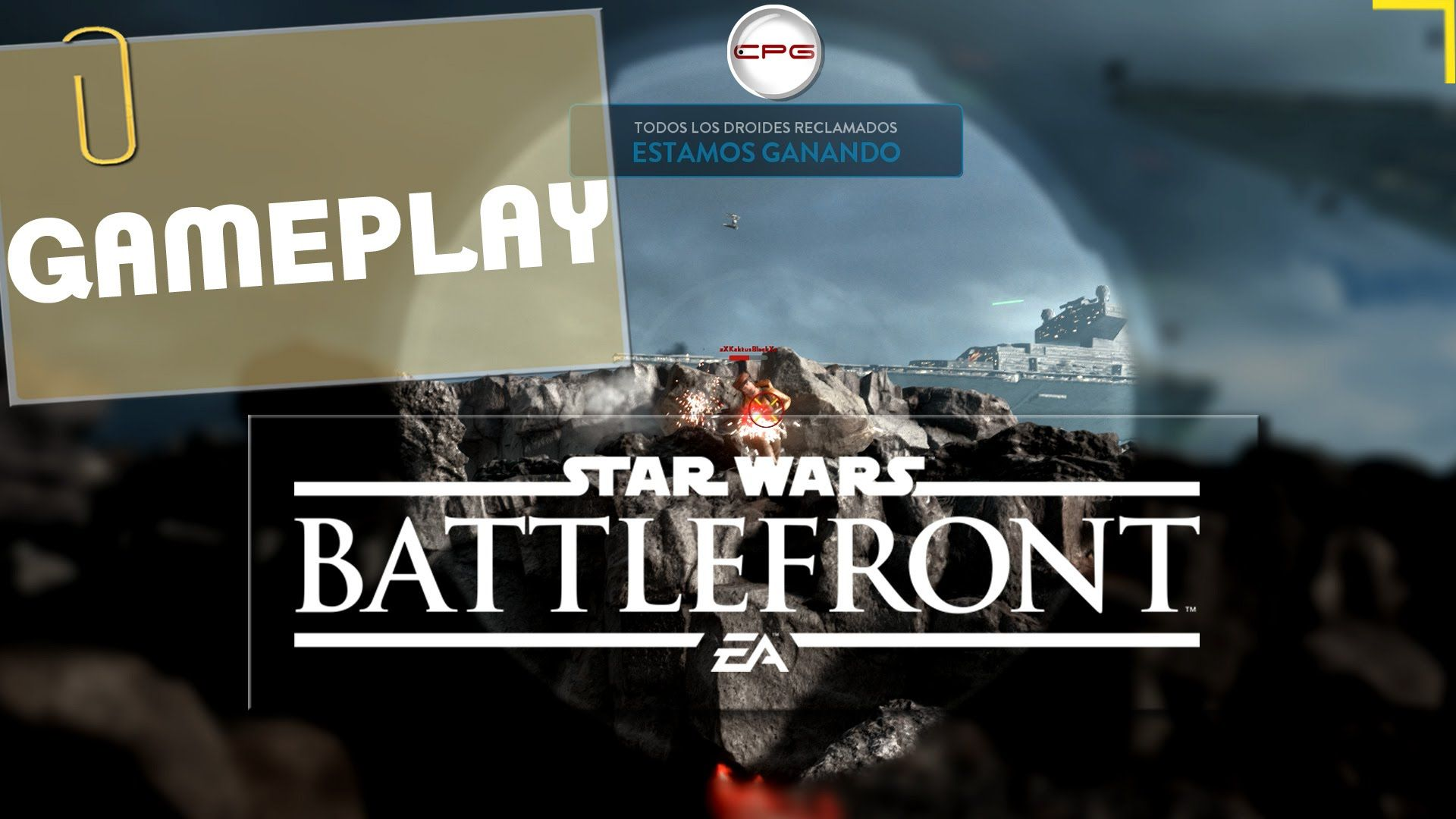 Star wars Battlefrony Gameplay CPG Checkpoint Games