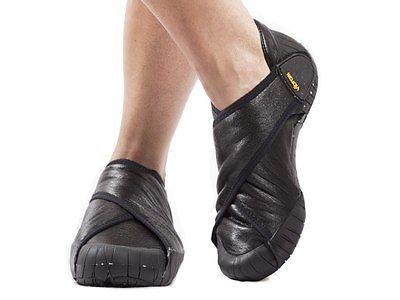 Vibram Furoshiki Shearling Shoes Black | Furoshiki
