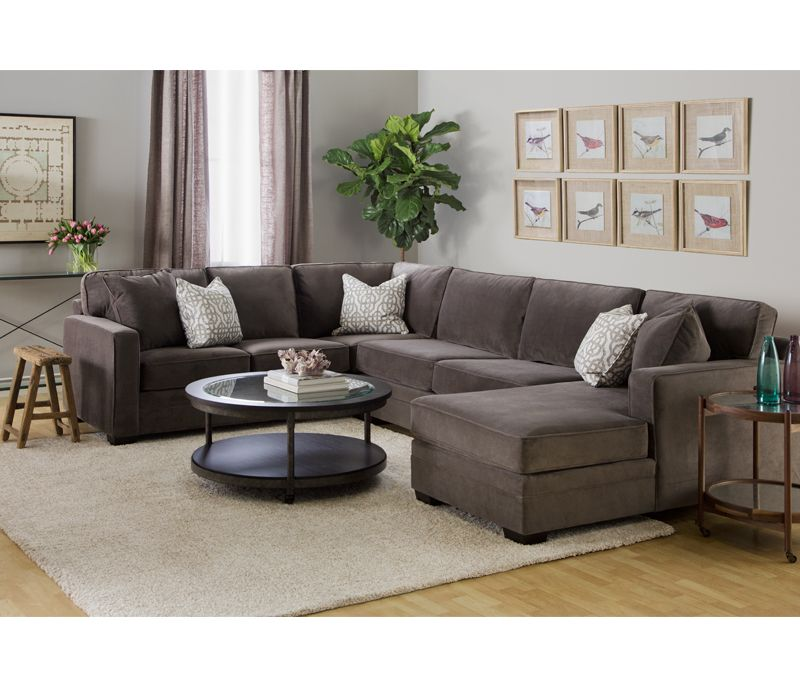 Brilliant Lennon 3 Pc Sectional W Chaise Boston Interiors Ibusinesslaw Wood Chair Design Ideas Ibusinesslaworg