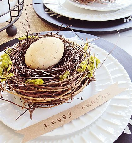 EASTER PLACE SETTING!!!
