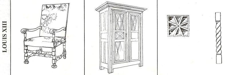 Louis xiii histoire mobilier pinterest ebenisterie for Histoire du meuble