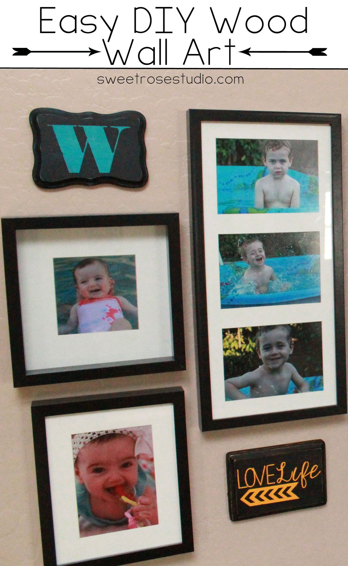 Easy diy wood wall art diyus how to pinterest diy wood