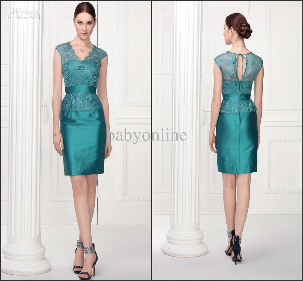Wholesale Mother of the Bride Dresses  Buy  Sexy V Neck Mini