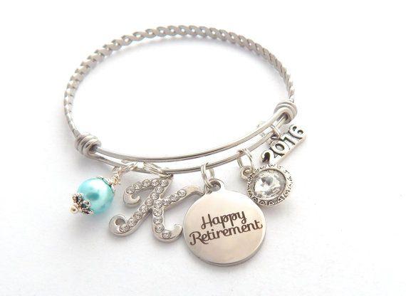 Retirement Gift Bracelet By Mybluesnowflake