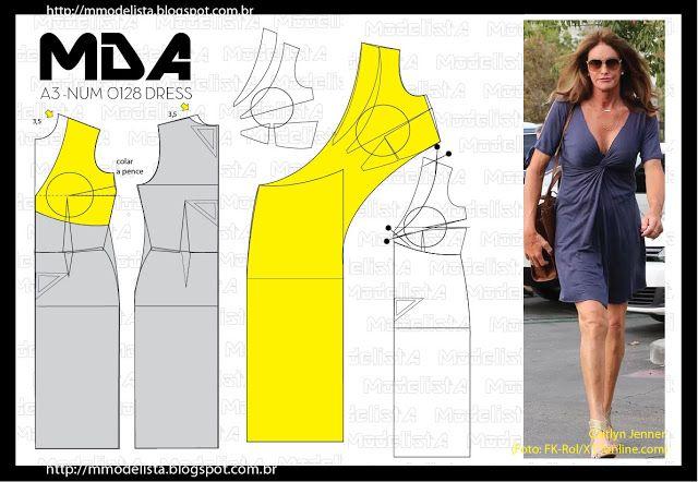 ModelistA: A3 NUMo 0128 DRESS