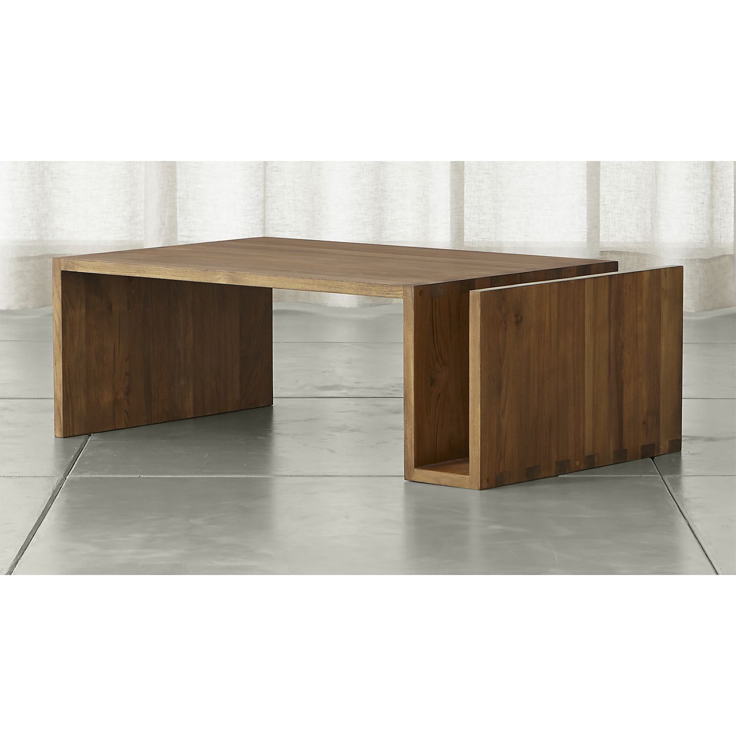 Merveilleux Entu Coffee Table In Coffee Tables U0026 Side Tables | Crate And Barrel