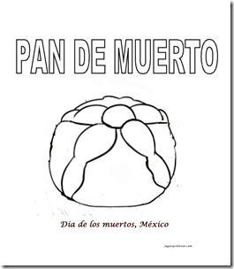 Jugar Y Colorear Dibujos Para Colorear Pan De Muerto Muerte Galletas Dia De Muertos