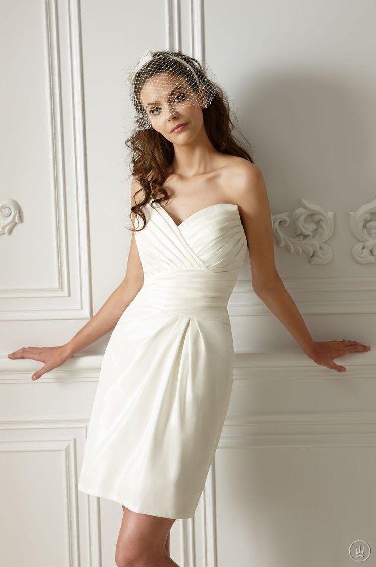 Short wedding dressesjasmine f collection fall