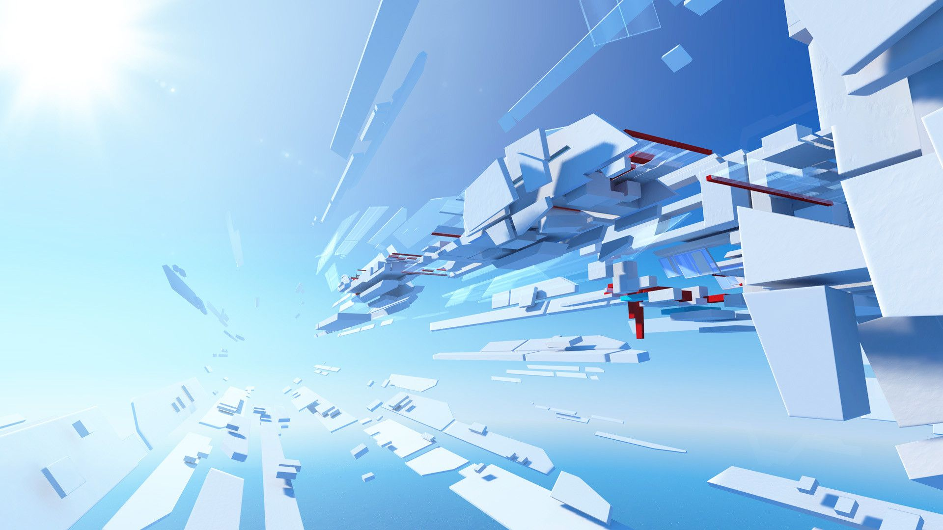 50 Mirror S Edge Wallpapers In 2020 Blue Artwork Hd Wallpaper