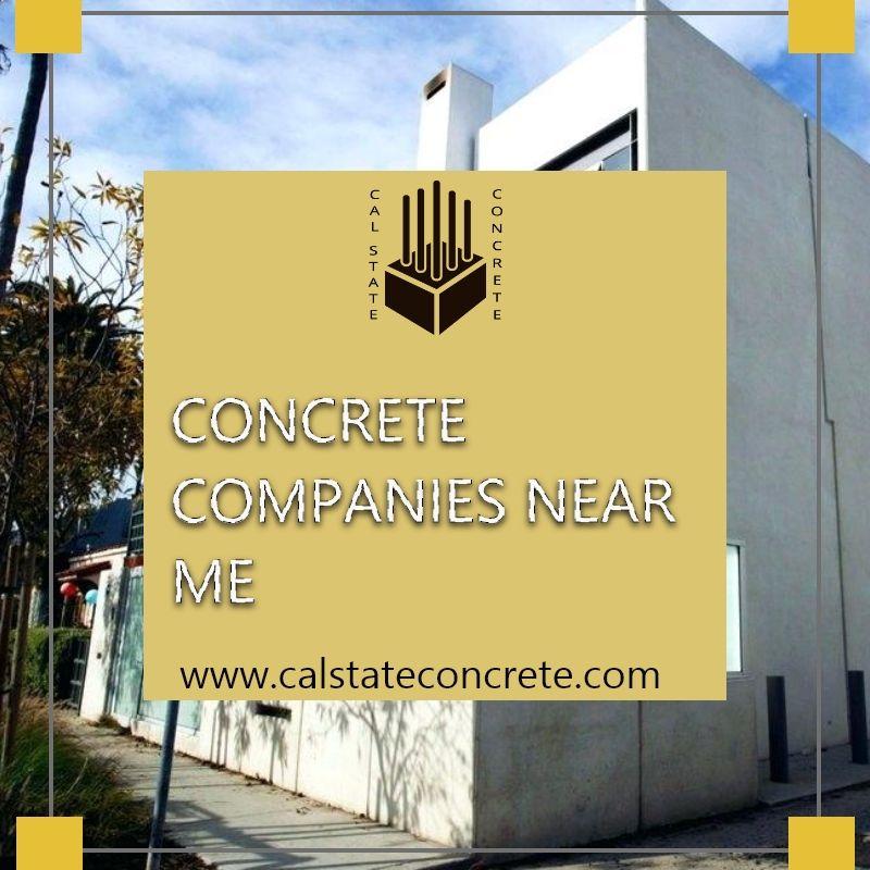 Advantages Of Concrete Cal State Concrete Concrete Concrete Contractor Concrete Driveways