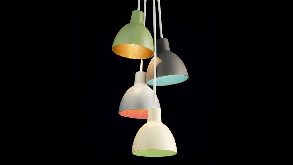 Toldbod 120 Duo Pendants From Louis Poulsen Pendant Lighting