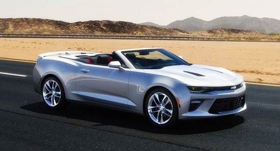 2016 Chevy Camaro SS Convertible Price In India