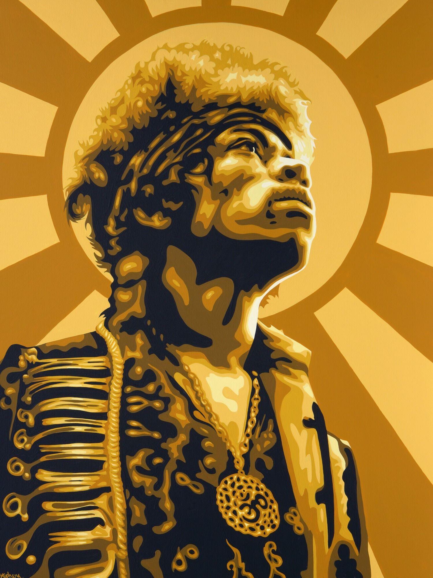 Jimi Hendrix Wall Mural Photo Wallpaper Jimi hendrix art