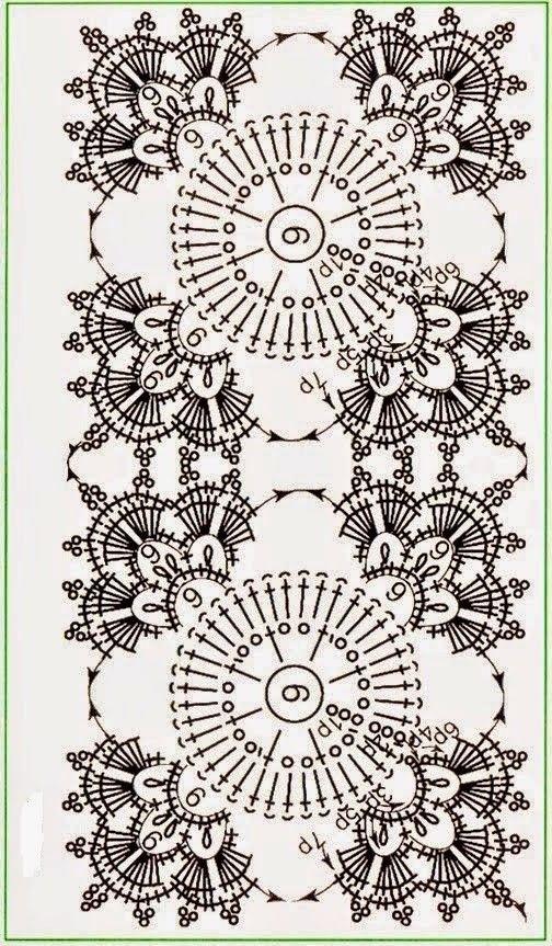 Square motifs | motifs | Pinterest | Ganchillo, Cuadrados y Tejido