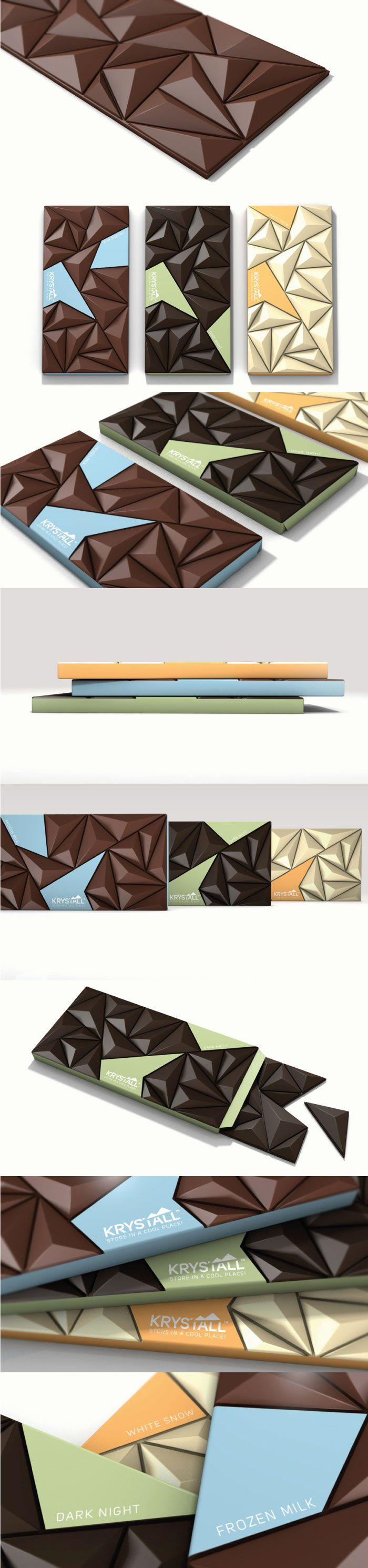 Prisms and chocolate. Everybody's favorite. PD