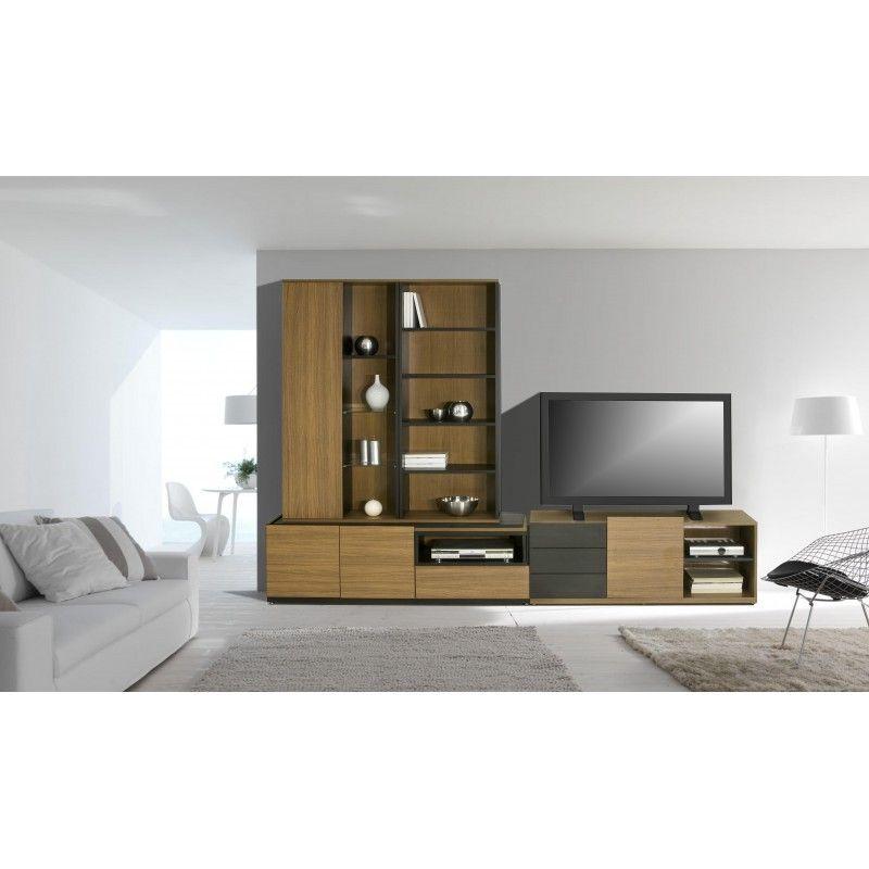 Salón - Topkit #muebles #decoracion #interiorismo #estanterias ...