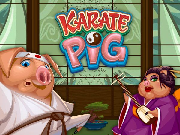 Relax With The Karate Pig Slots With No Download