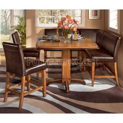 Urbandale Corner Counter Height Dinette Dining Room Sets Kitchen Table Settings Dining Room Furniture