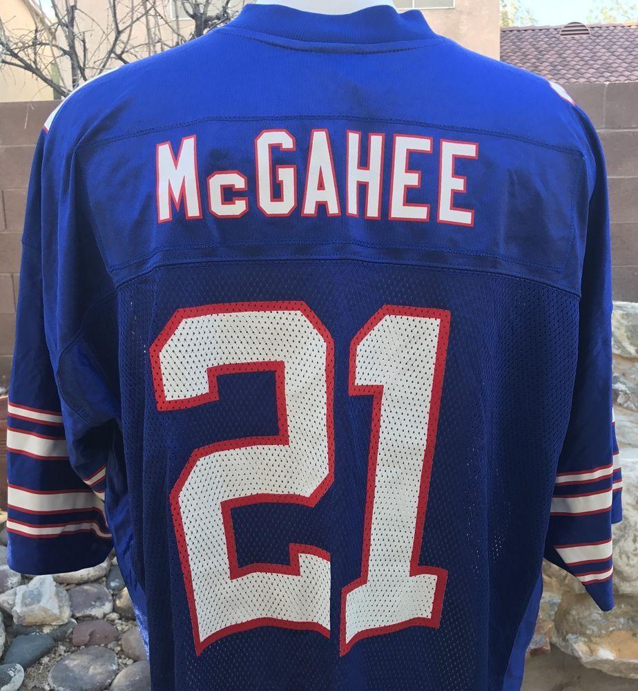 Willis McGahee  21 Buffalo Bills Jersey Reebok Blue On Field NFL XXL 2XL  New  Reebok  Jersey  BuffaloBills  giftsfordad  giftsforhim  ebayrocteam   football 591efe158