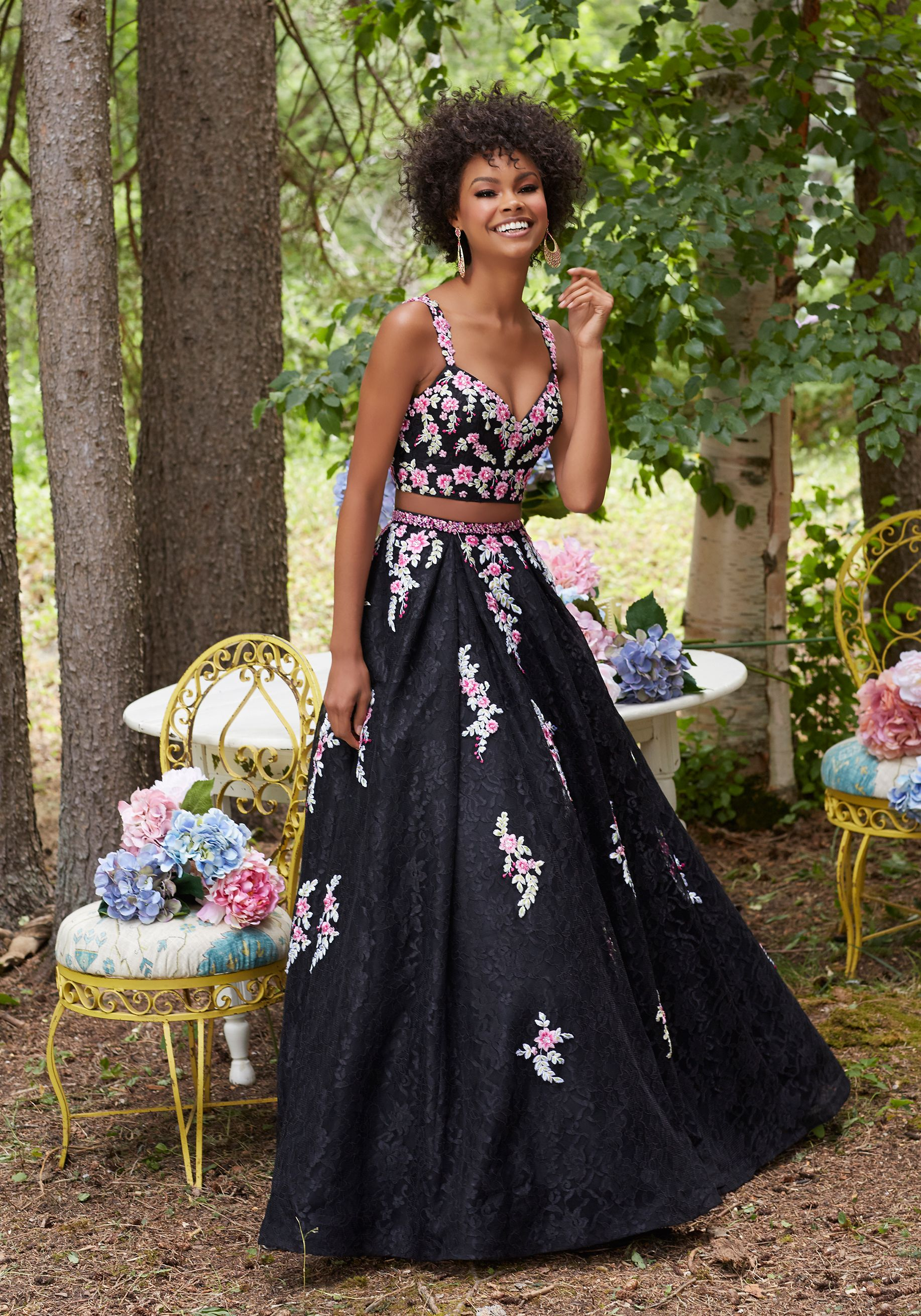 Prom dresses by morilee designed by madeline gardner twopiece prom