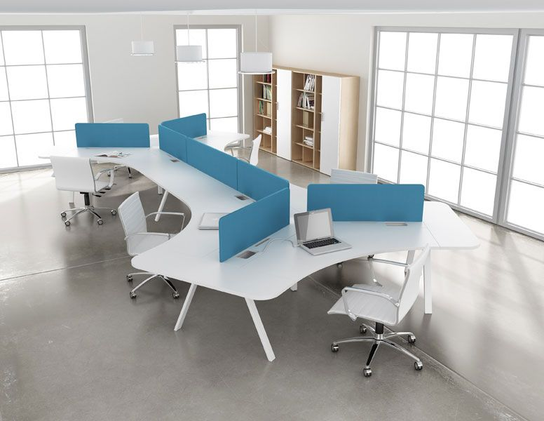 Watson desking tonic configuration images furniture for Furniture configurations for small spaces