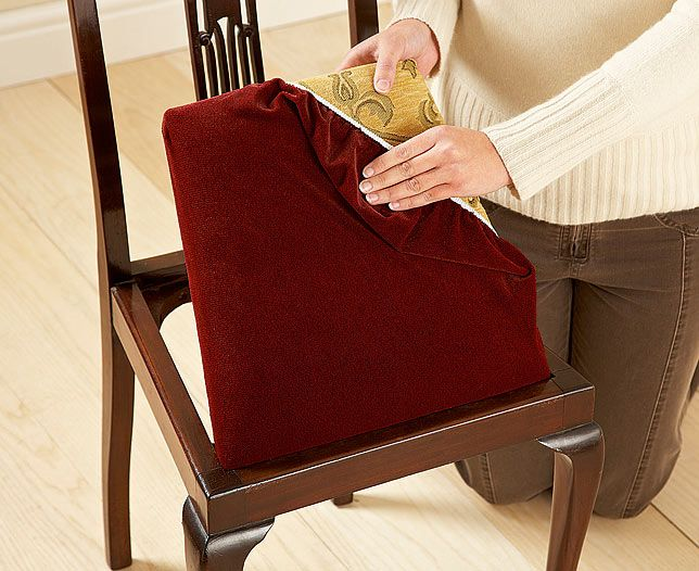 dining chair seat covers | design ideas 2017-2018 | Pinterest ...