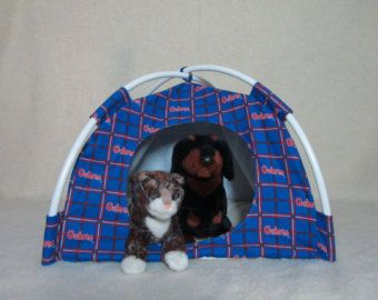 Florida Gator Flannel Cat or Small Dog Tent & Florida Gator Flannel Cat or Small Dog Tent | Puppies | Pinterest ...