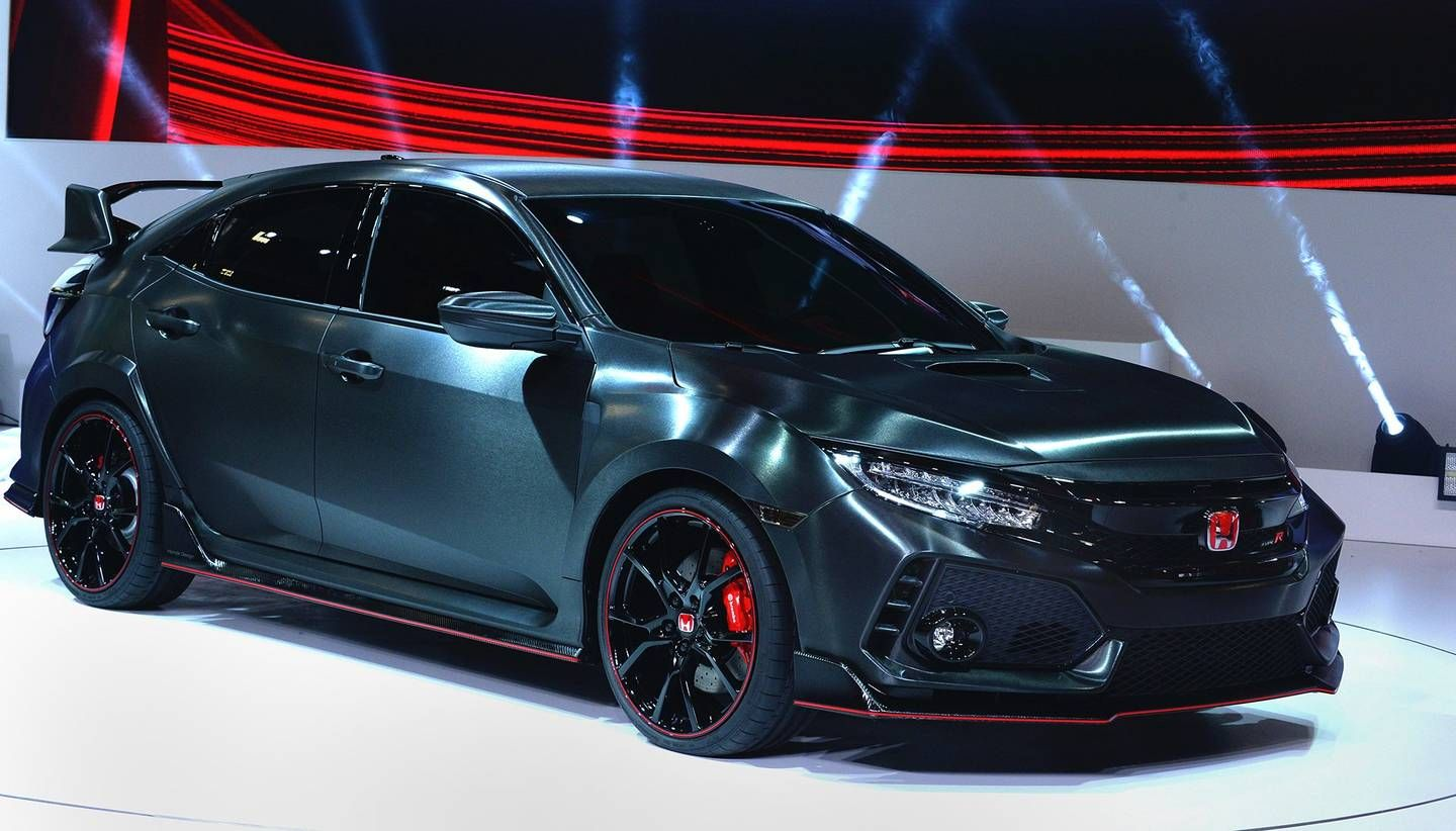 2018 Honda Civic Type R Will Debut at Geneva (With images